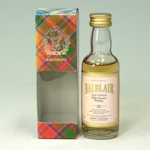 バフルレア 10年 Balblair highlandmalt 50ml